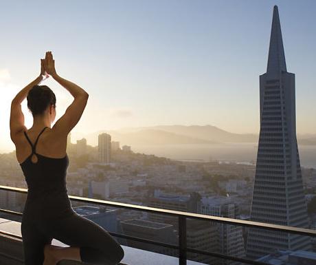 Yoga at Mandarin Oriental San Francisco