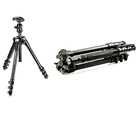 Travel photography tripod