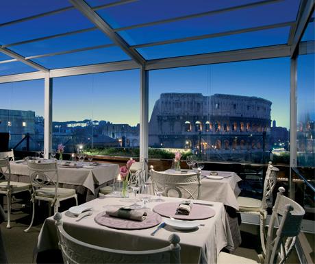 Aroma Restaurant, Palazzo Manfredi