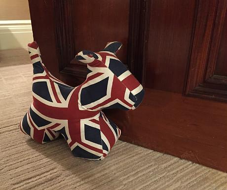 Athenaeum Union Jack dog