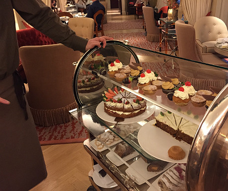 Athenaeum afternoon tea trolley