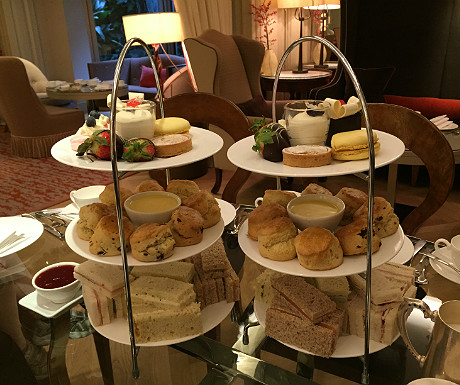 Athenaeum afternoon tea