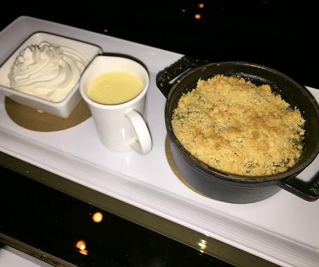 Athenaeum dessert