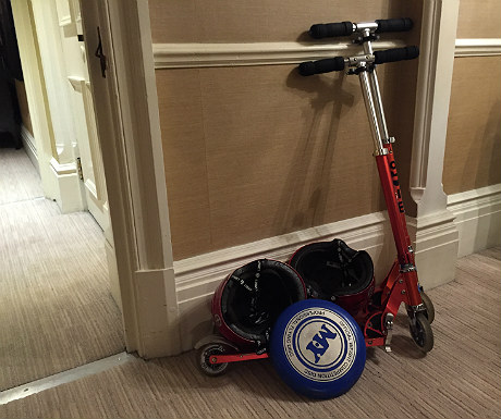 Athenaeum scooters
