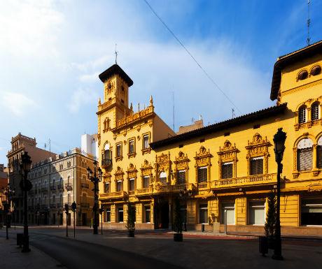 Castellon de la Plana architecture