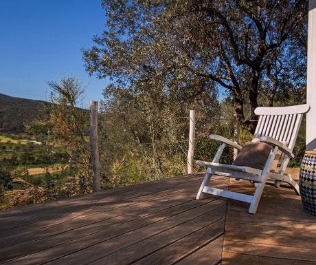 Locker Cottage golf view