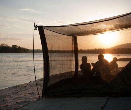 Fly camping in Southern Tanzania