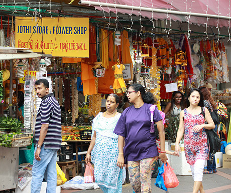 Little India shopping