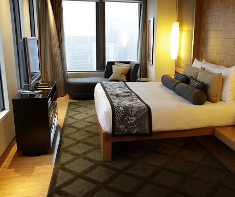Mandarin Oriental Tokyo bedroom