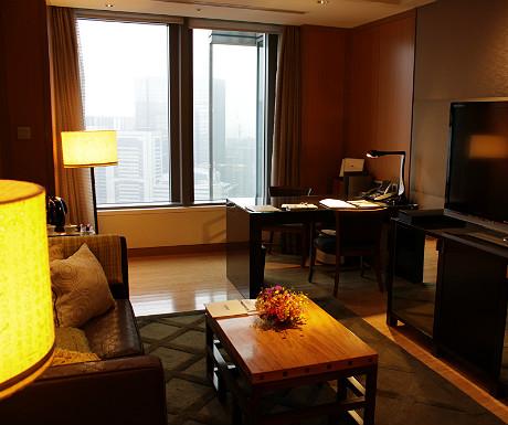 Mandarin Oriental Tokyo lounge2