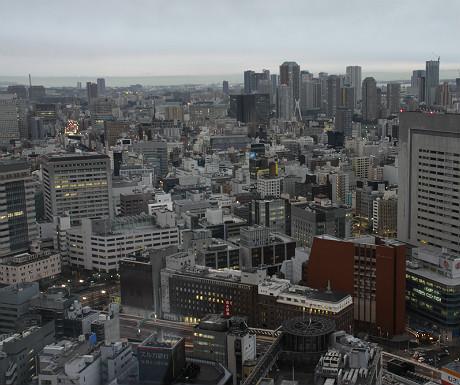 Mandarin Oriental Tokyo view