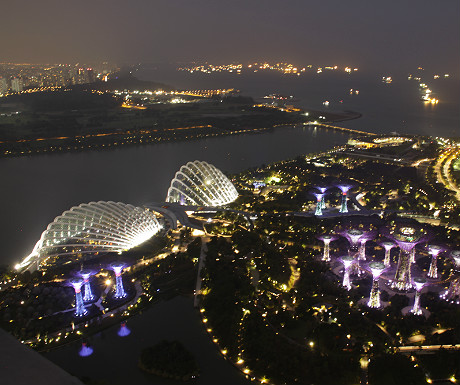 Marina Bay Sands Hotel view