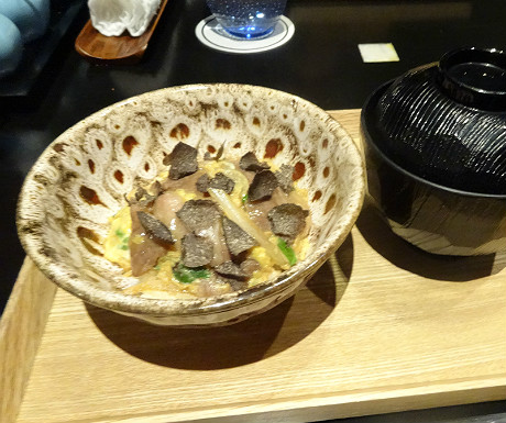 Mikuni wagyu beef with truffles