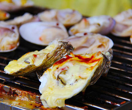Oyster barbecue