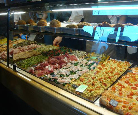 Pizzarium, Rome