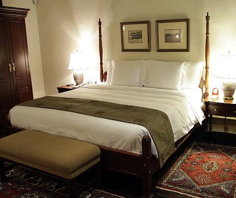 Raffles Singapore bed