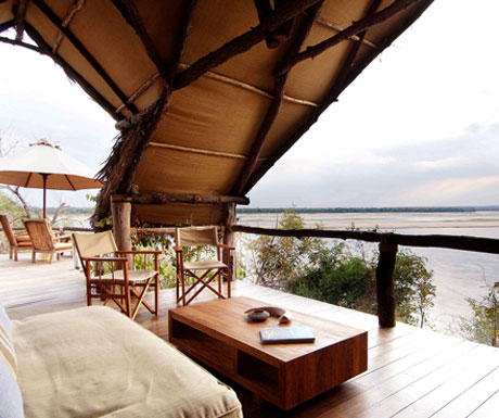 Sand Rivers Selous room