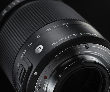 Sigma 18-300mm F3.5-6.3 DC Macro lens