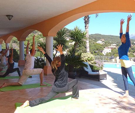 Spain yoga