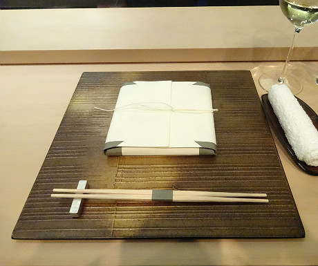 Sushi Sora Restaurant place setting