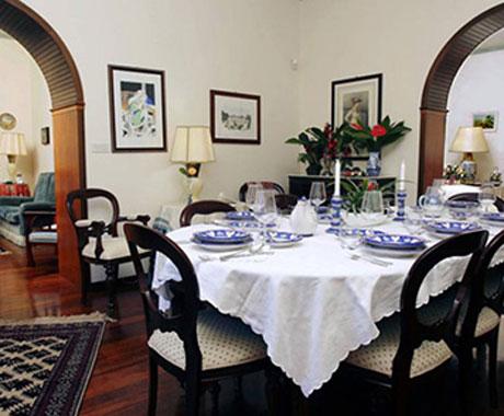 Villa Giardini Principe dining