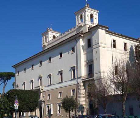 Villa Medicci, Rome