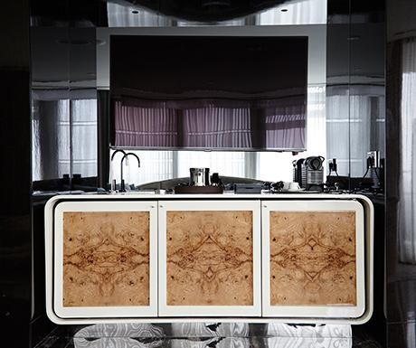 Bentley Suite Istanbul Wet Bar