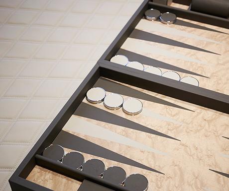 Bentley Suite backgammon set St. Regis Istanbul