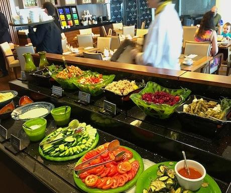 Buffet Breakfast at Intercontinental