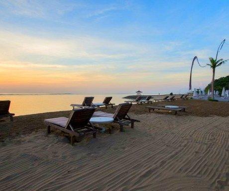 La Taverna Beach sunset, Bali