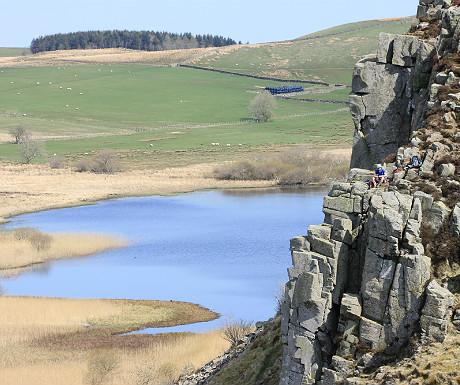 Lough Crag closer up