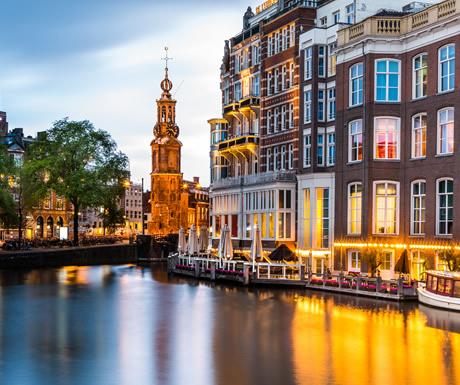Luxury European river cruise