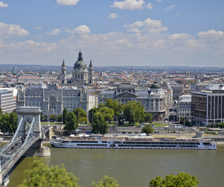 Luxury river cruise in Europe