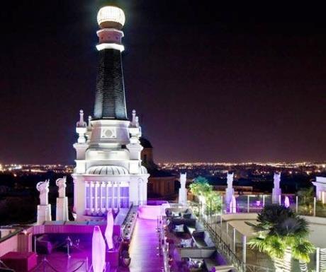 ME Madrid roof terrace