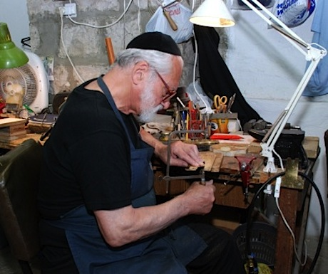 Metalsmith at Yad La Kashish