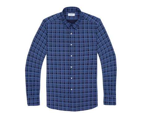 Midwood hand drawn plaid shirt from Ovadia and Sons