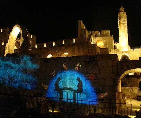 Night Spectacular, Jerusalem