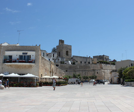 Otranto entrance to old town