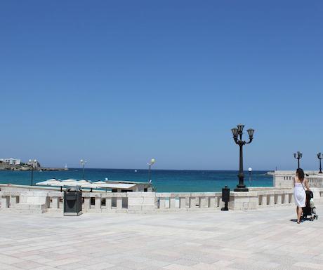 Otranto promenade