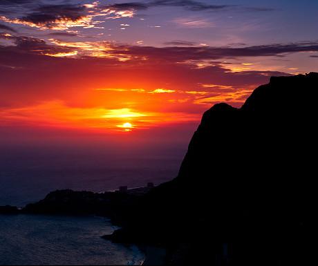 Pedra da Gavea Rock sunset
