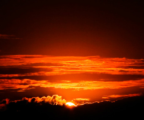 Pontal sunset