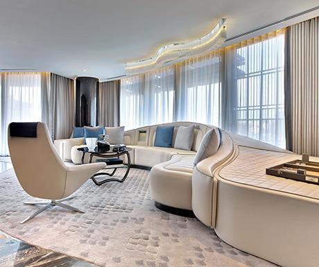 Bentley Suite St. Regis Istanbul Living Room