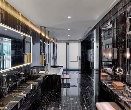 Bentley Suite St. Regis Istanbul Bathroom