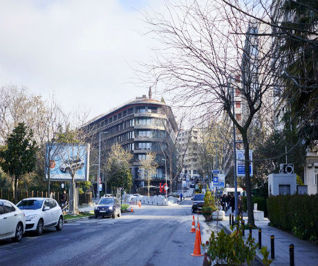 St. Regis Istanbul location
