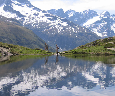 Summer in the high Alps