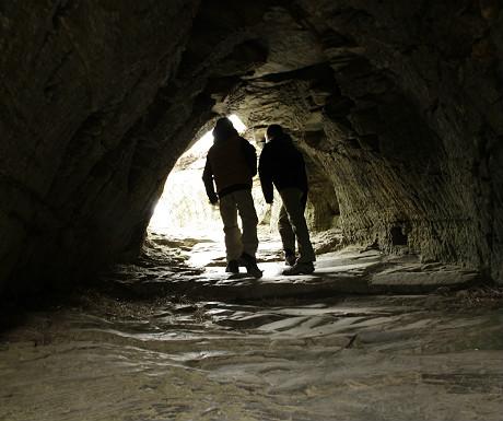 Tintagel tunnel