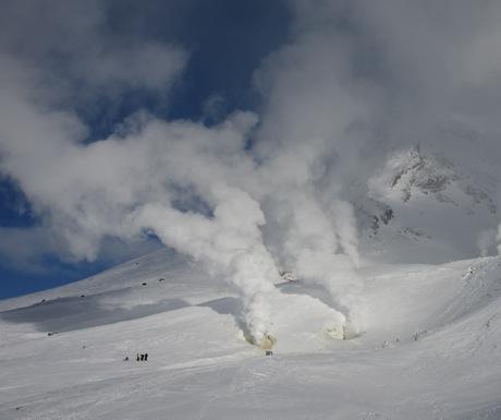 Asahidake fumaroles