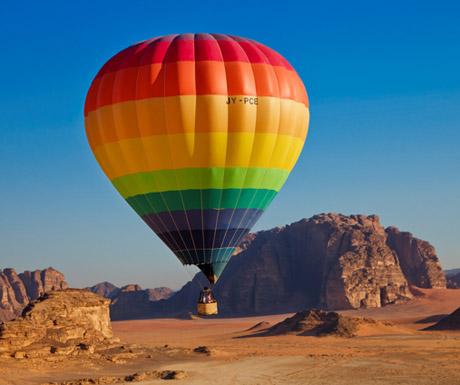 Hot air balloon Jordan