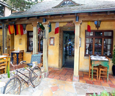 Locally-owned French restaurant