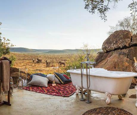 Madikwe Hills bathtub